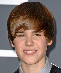 Justin Bieber Hairstyle - click to view hairstyle information