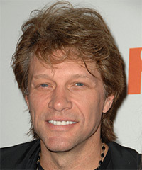 Jon Bon Jovi Hairstyle - click to view hairstyle information