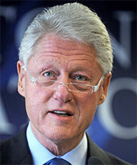 Bill Clinton Hairstyle - click to view hairstyle information