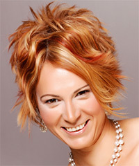 Alternative Short Wavy Hairstyle - click to view hairstyle information