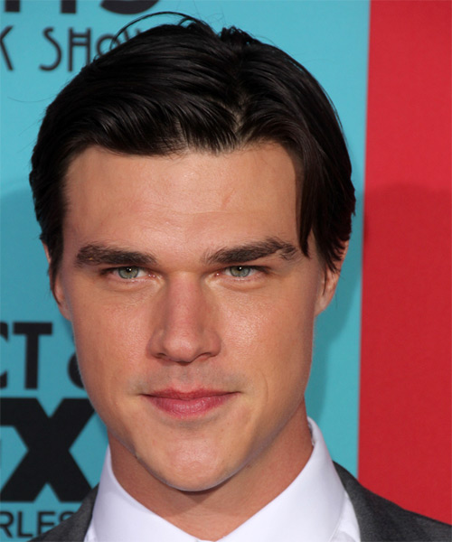 Finn Wittrock Short Straight Formal   Hairstyle   - Black
