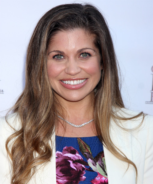 Danielle Fishel Long Straight Casual    Hairstyle   -  Brunette Hair Color