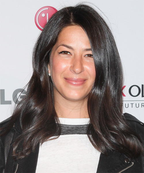 Rebecca Minkoff Long Straight Casual    Hairstyle   - Black  Hair Color