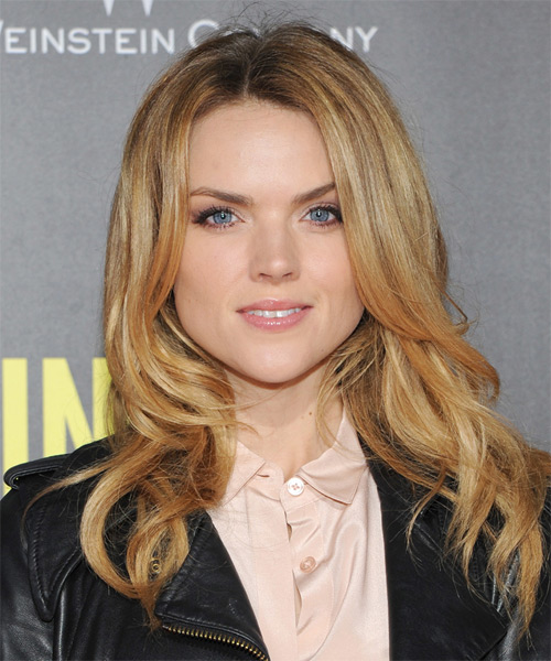 Erin Richards Long Straight Hairstyle