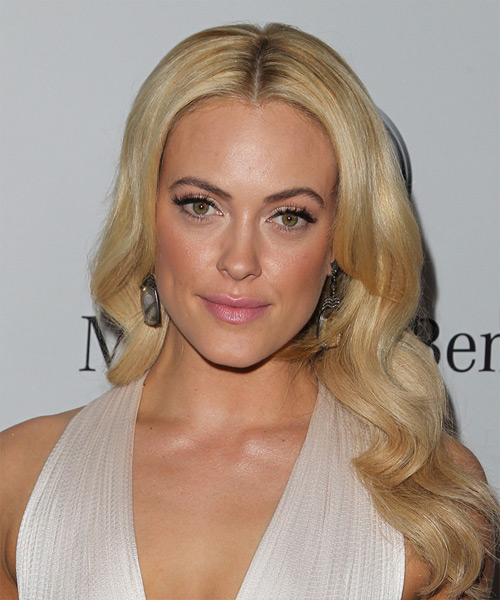 Peta Murgatroyd Long Wavy Formal   Hairstyle   - Medium Blonde (Honey)