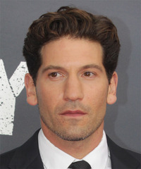 Jon Bernthal Short Wavy Formal    Hairstyle   -  Brunette Hair Color