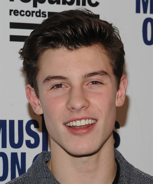 Shawn Mendes Short Straight Casual Hairstyle