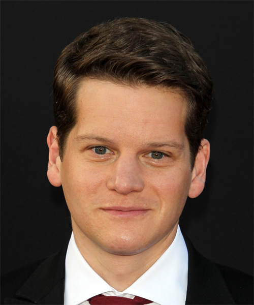 Graham Moore Short Straight Formal   Hairstyle   - Dark Brunette