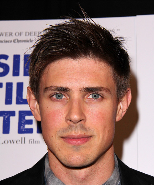Chris Lowell Hairstyles
