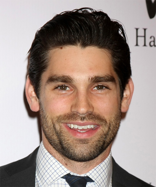 Justin Gaston Short Straight Formal   Hairstyle   - Dark Brunette