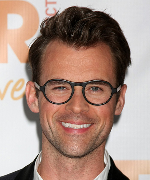 Brad Goreski Short Straight Formal    Hairstyle   - Chocolate Hair Color
