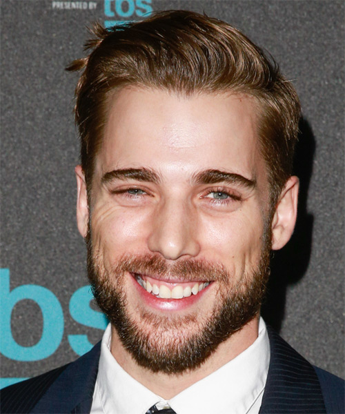 Dustin Milligan Short Straight Formal   Hairstyle   - Light Brunette