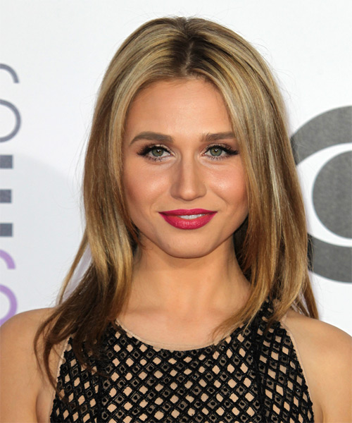 Rita Volk Long Straight Casual   Hairstyle   - Medium Blonde
