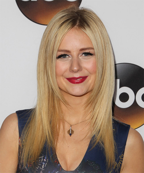 Justine Lupe Long Straight Casual   Hairstyle   - Light Blonde