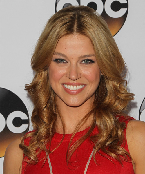 Adrianne Palicki Long Wavy Formal   Hairstyle   - Dark Blonde