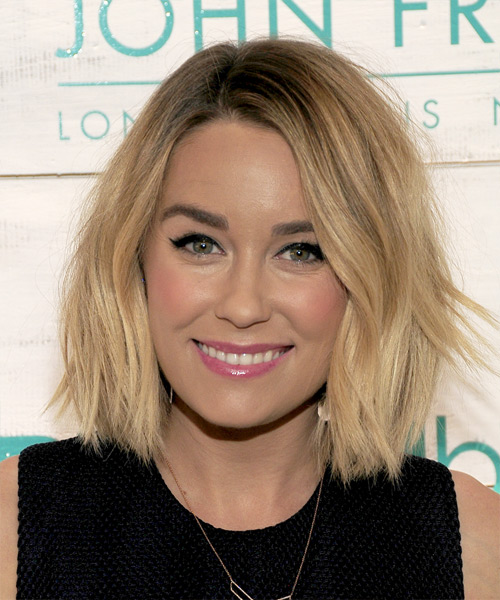 Lauren Conrad Medium Straight Casual   Hairstyle   - Medium Blonde