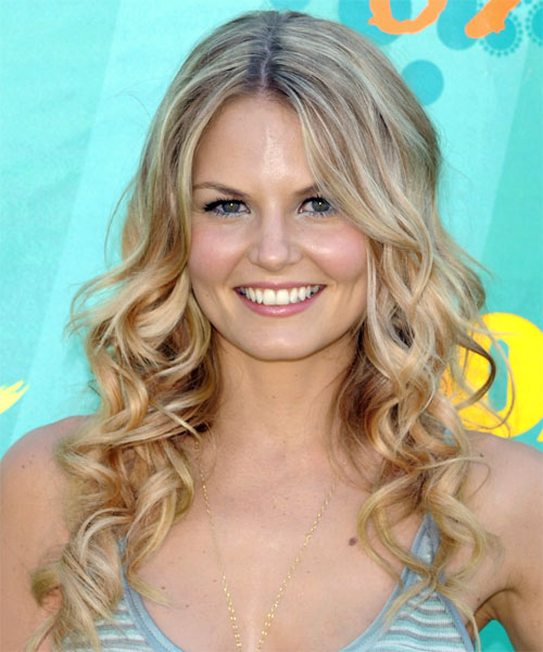 Jennifer Morrison Long Wavy Formal   Hairstyle