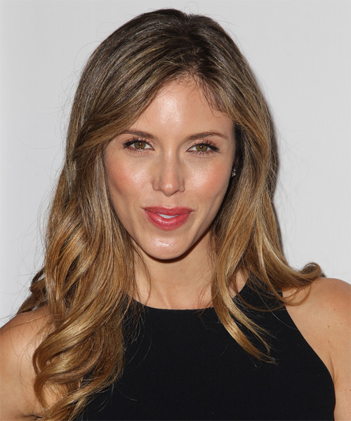 Kayla Ewell Long Wavy Formal   Hairstyle   - Light Brunette