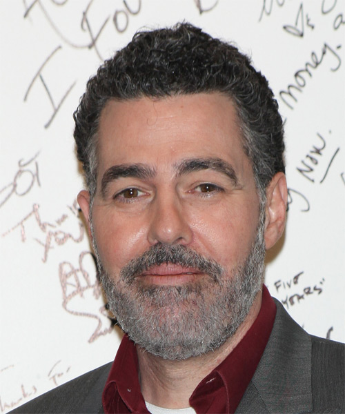 Adam Carolla Short Curly Casual   Hairstyle