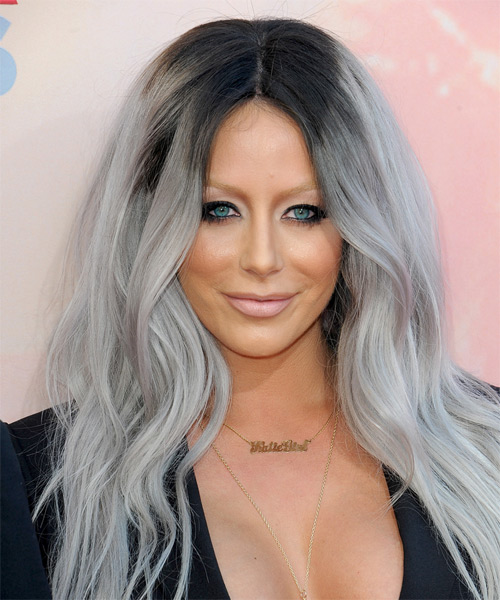 styles of dying hair o day casual hairstyle grey hair color 9380