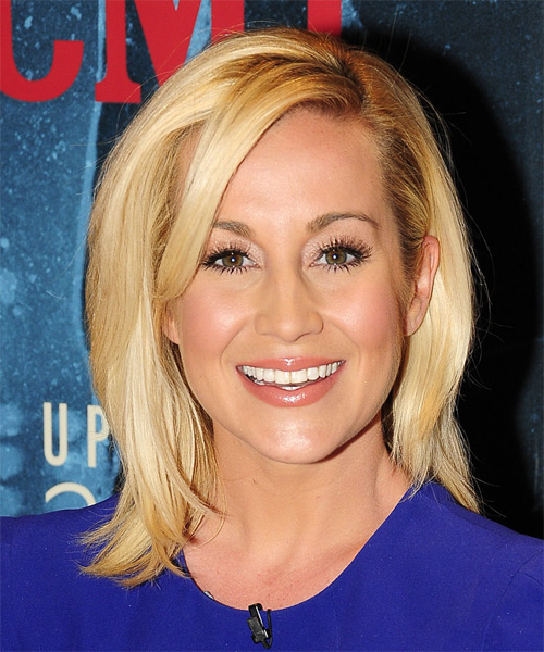 Kellie Pickler Medium Straight Casual   Hairstyle   - Medium Blonde (Honey)