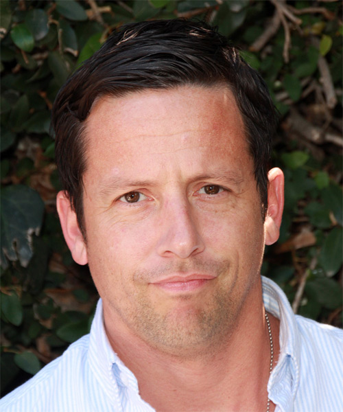 Ross McCall Short Straight Casual   Hairstyle   - Dark Brunette