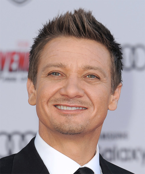 Jeremy Renner Short Straight Casual   Hairstyle   - Light Brunette