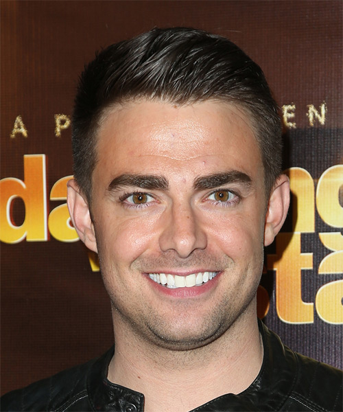 Jonathan Bennett Short Straight Formal   Hairstyle