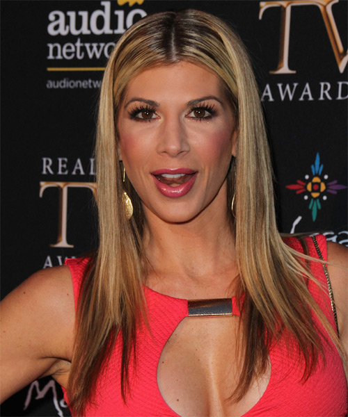 Alexis Bellino Long Straight Casual   Hairstyle   - Dark Blonde