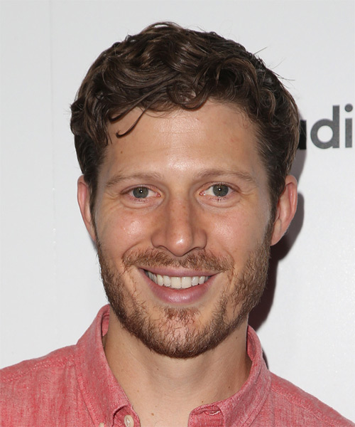 Zach Gilford Short Wavy Formal   Hairstyle   - Medium Brunette