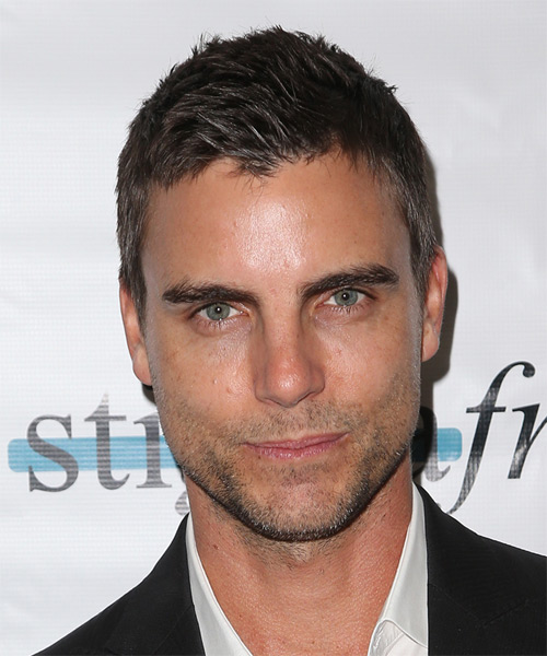 Colin Egglesfield Short Straight Casual   Hairstyle