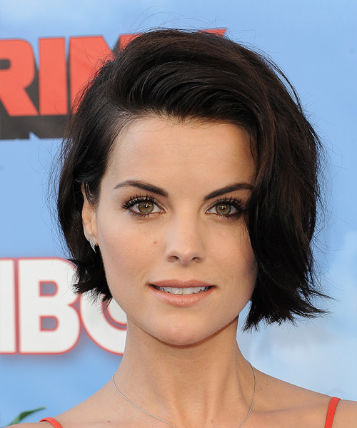 Jaimie Alexander Short Straight   Dark Brunette   Hairstyle