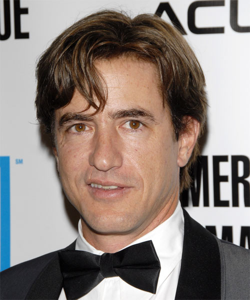Dermot Mulroney Short Straight Formal   Hairstyle