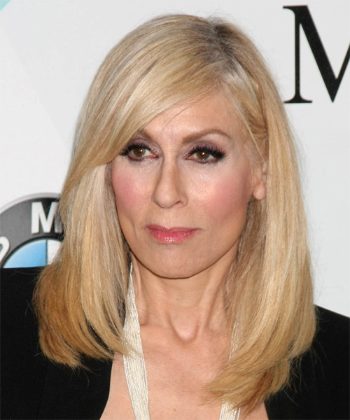 Judith Light Long Straight    Blonde   Hairstyle