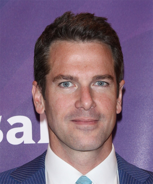 Thomas Roberts Short Straight Casual   Hairstyle   - Dark Brunette
