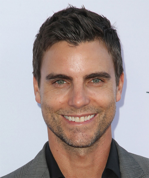 Colin Egglesfield Short Straight Casual   Hairstyle   - Medium Brunette (Ash)