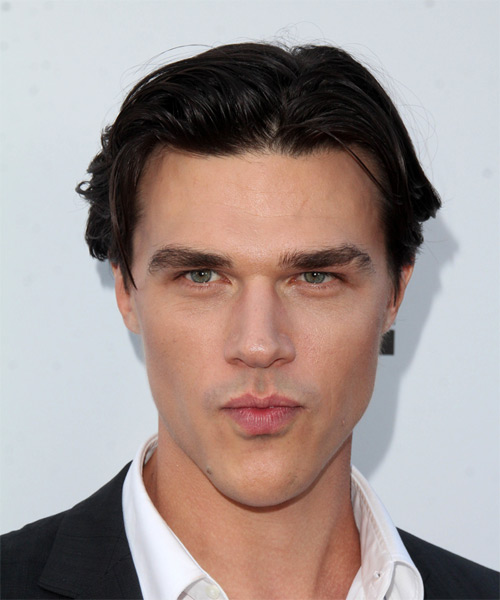 Finn Wittrock Short Straight Casual    Hairstyle   - Dark Brunette Hair Color