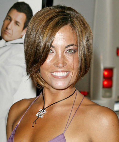 Rebecca O Donahue Medium Straight Casual   Hairstyle