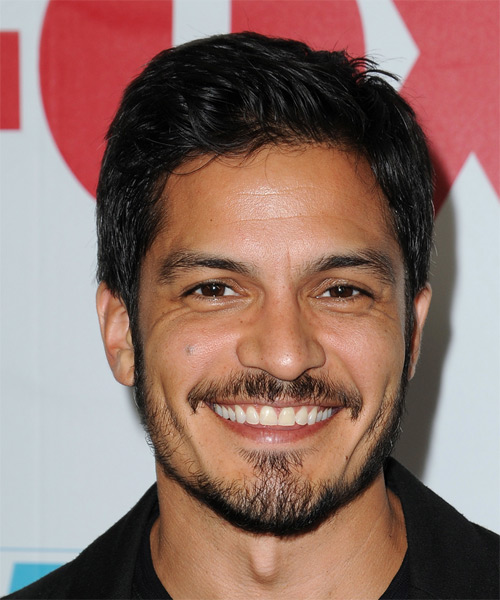 Nicholas Gonzalez Short Straight Casual   Hairstyle   - Black