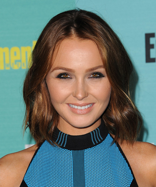 Camilla Luddington Medium Straight Casual   Hairstyle   - Medium Brunette