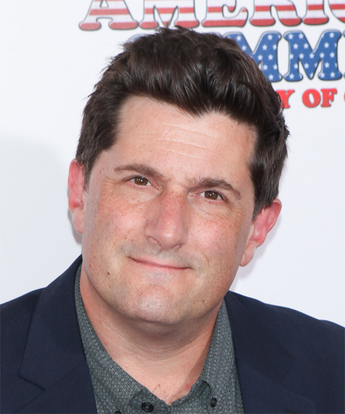 Michael Showalter Short Straight Casual   Hairstyle   - Medium Brunette (Chocolate)