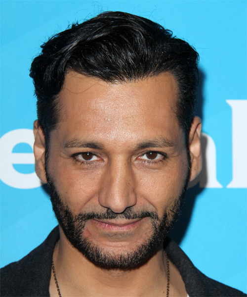 Cas Anvar Short Straight Casual   Hairstyle   - Black