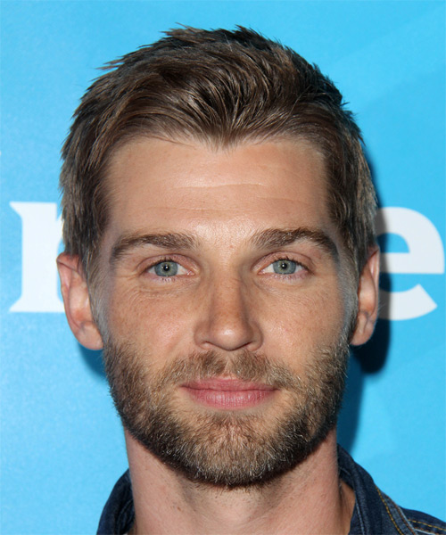 Mike Vogel Short Straight Casual   Hairstyle   - Light Brunette