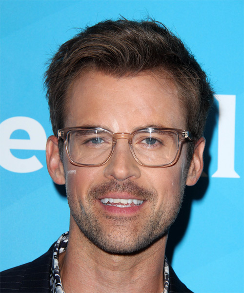 Brad Goreski Short Straight Casual   Hairstyle   - Light Brunette (Ash)