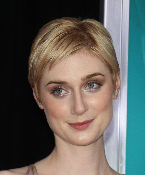 Elizabeth Debicki Short Straight   Light Golden Blonde   Hairstyle