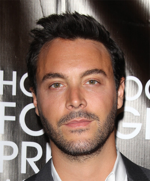 Jack Huston Short Straight Casual   Hairstyle   - Dark Brunette