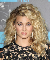 Tori Kelly Long Curly    Blonde   Hairstyle