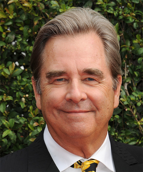 Beau Bridges Short Straight Formal   Hairstyle   - Medium Grey