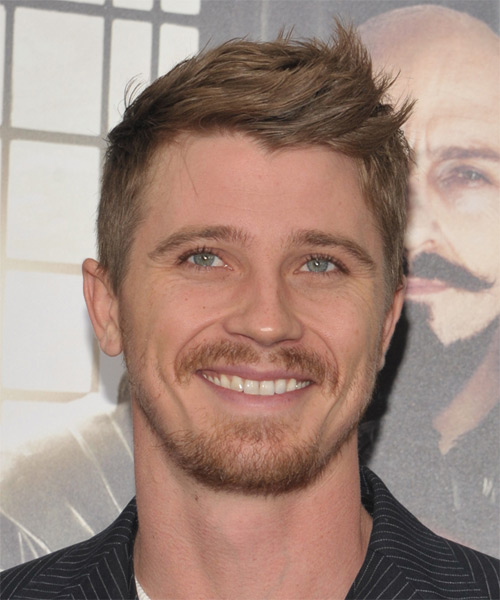 Garrett Hedlund Short Straight Casual   Hairstyle   - Light Brunette