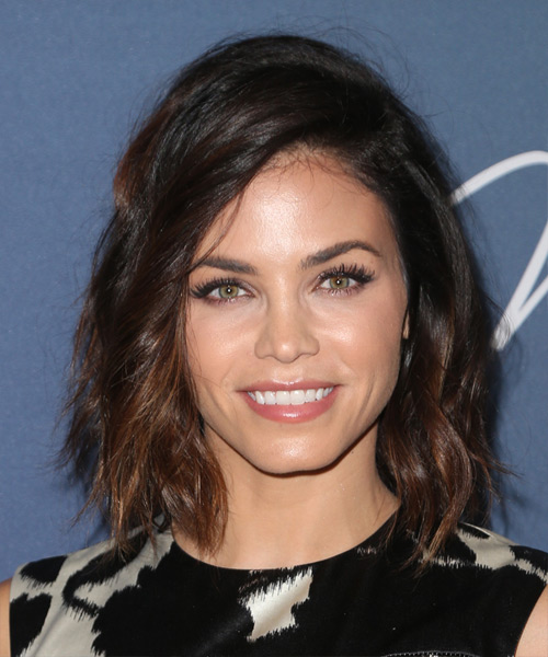 Jenna Dewan Medium Wavy Casual   Hairstyle